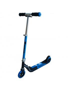 Monopattino Blu Blue Pieghevole Ruote 125 mm Manubrio Regolabile Altezza