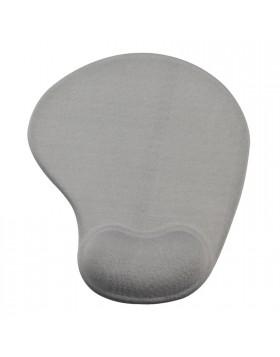 Tappeto Tappetino per Mouse Mousepad Ergonomico con poggia polso Vultech Grigio