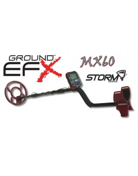 Metal Detector Ground EFX Storm MX 60 Cercametalli Oro Monete Metaldetector