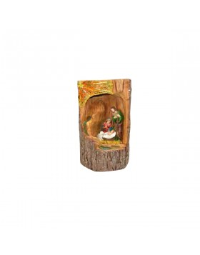 Natività Presepe Natale Simbolo 60 cm Sacra Famiglia Natività Statuette Ruscello