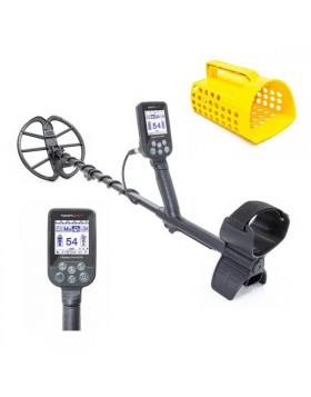 Nokta Makro Metal Detector Simplex Plus Paletta Setaccio 11″ DD Acqua 3M