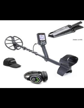 Nokta Makro Metal Detector Simplex Plus + WHP 11″ DD Acqua 3M Coltello Digger