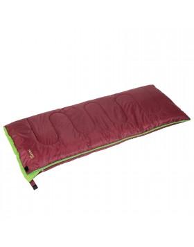 Sacco a pelo Camping Scout Saccoletto Sport 190x75 cm Easy nylon bordeaux Berto