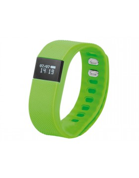 Orologio verde Fitness con display a led resistente all'acqua batteria a Lithio