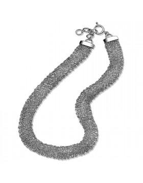 Orologio per Donna Breil Infinity TW1350 Silver Bracciale Collana In Acciaio