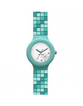 Orologio da Donna Hip Hop HWU0458 Mosaic Shades Green Solo Tempo