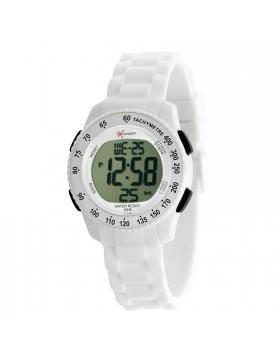 Orologio SECTOR EXPANDER STREET R3251572045 in Policarbonato Bianco Cronografo