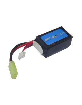 Pacco Batterie Batteria Lipo 1200 mAh 11.1V Softair