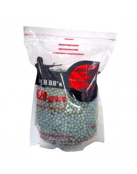 Busta 1 Kg 5000 Pallini Softair 6 mm Verdi 0.20 grammi