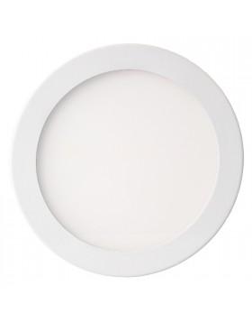 Faretto da incasso Rotondo Alluminio bianco 6W luce Naturale 4500K 420 Lumen