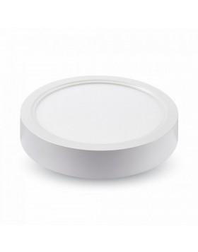 Applique Rotondo Bianco Diametro 23,5 cm Potenza 22W a Led Smd 1980 lumen V-tac