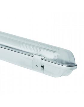 Plafoniera Stagna 1 Neon Led Tubo G13 150 cm 220V Soffitto IP65