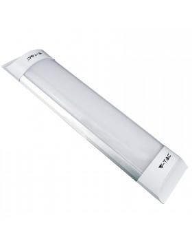 Plafoniera Led 60cm 20W Applique Tubo Prismatico Luce Naturale V-TAC VT-8020
