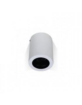 Portafaretto orientabile rotondo alluminio da Soffitto per lampadine GU10 GU5.3