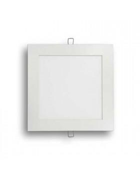 Faretto da incasso V-tac luce naturale 4500K 1500lm 18W 205x205mm forma quadrata