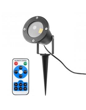 Proiettore Luci Natalizie Effetto Luce di Natale con Telecomando 2 Colori