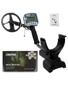 Rutus Ultima Metal Detector Professionale Piastra DD 28 cm 2 Frequenze 8 16 kHz