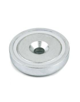 Magnete Calamita G-csn 48 Forza Attrazione 87 Kg Metal Detector