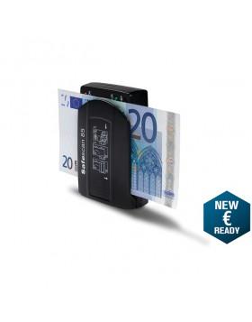 Verifica Banconote false tascabile portatile alimentato batteria cavo safescan
