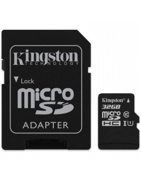 Scheda di Memoria SD Micro Memory Card Classe 10 32 GIGA GB + Adattatore KINGSTON