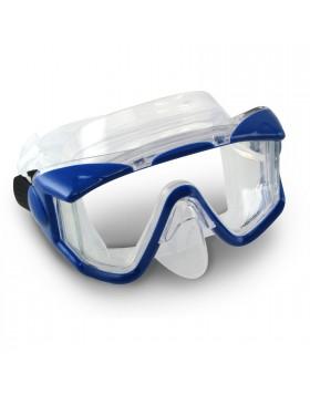 Maschera Facciale Subacquea Sub in Silicone Trasparente Blu SCUBAPRO CRYSTAL VU