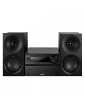 SISTEMA IMPIANTO HI FI HIFI CASSE CD MP3 USB BLUETOOTH HCX 1080 BT NERO TREVI