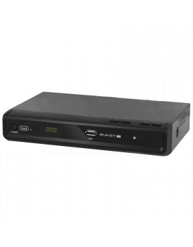 DECODER DIGITALE TERRESTRE HD DVBT-T2 HDMI USB SCART REGISTRATORE TREVI 3385 TT