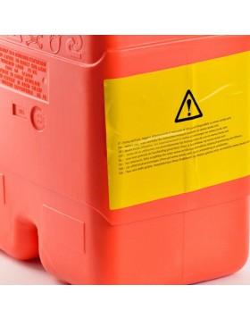 Tanica Serbatoio Bidone 22 Litri Trasporto per Carburante Gasolio Olio Omologata