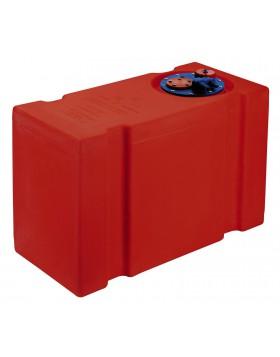 Serbatoio Tanica Bidone Eltex Benzina Carburante 62 Litri Olio Acidi 66x30x41 cm