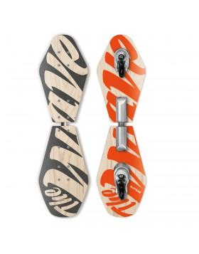 Skateboard Street Surfing  Wave 2 ruote Waveboard Skate Board Signature Abec 7