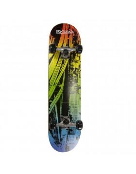 Skateboard Completo con Ruote Professionale Skate Max City Abec1 Street Sport