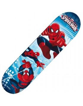 Skate Board Skateboard Spiderman 4 Ruote in Legno per Bambini Sport MONDO