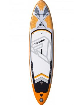 Sup Board Tavola Gonfiabile Sport Acquatici Arancione Magma 330 cm Large Rigida