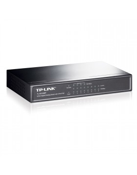 Switch 8 Porte RJ45 LAN Ethernet Gigabit TP-LINK TL-SG1008P 10/100/1000