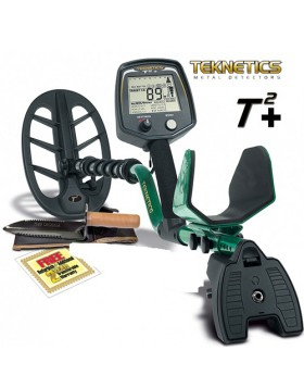"Metal Detector Teknetics T2+ T 2 + 11"" DD Pinpointer Tek-Point Cuffie"