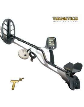 "Metal Detector Teknetics T2 LTD Doppia Piastra 11"" 5"" DD Oro Monete Reperti"