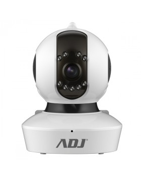 Telecamera IP Led ADJ Angel HD Wifi da Interno 3,6 mm PTZ Motorizzata 720P