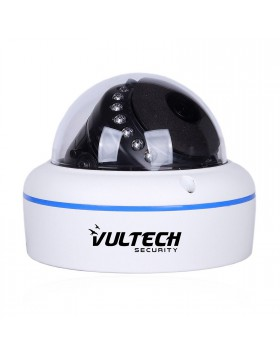 Telecamera Dome IP Vultech MEGAPIXEL 720p 3,6 mm 24 Led VULTECH CM-BU72IP-POE