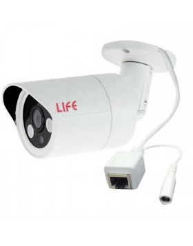 Kit Dvr NVR Videosorveglianza 4 Ch Canali LIFE Telecamere HD 720P HD HDD 1 TB