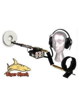"Metal detector Tesoro Tiger Shark 8"" Subacqueo Ricerca Oro Monete Metalli"