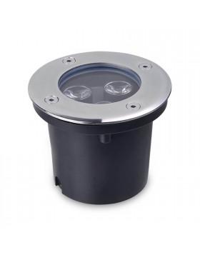 Faretto a LED Seganpasso Incasso Luce Calda Esterno Calpestabile Segnapassi 3W