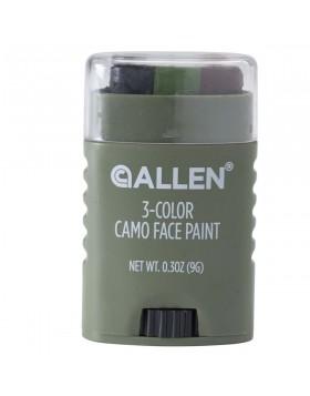 Trucco Mimetico 3 Colori Camouflage Militare Viso Camo Face Paint