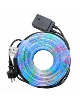 Tubo Luminoso per Esterno Led 16 Metri Luci Natalizie Addobbi Natale Multicolor