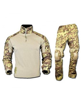 Divisa Uniforme da Softair Caccia Taglia XL Vegetato Italiano Militare Verde