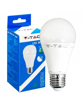 Lampada Lampadina E27 a LED SMD V-TAC Bulbo Luce Bianca Natura Naturale 15 Watt