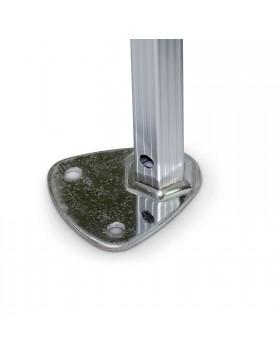 Gazebo per prato esterno casa in alluminio Impermeabile Pieghevole Pro 3x3 Berto