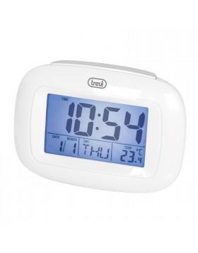 Sveglia Bianco X cameretta Calendario Luce Termometro Data Promemoria compleanni