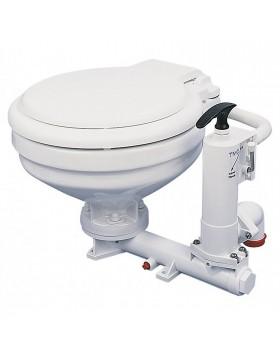 Toilette Wc Manuale Marino Bagno TMC per Barca in Ceramica Camper