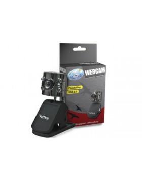 WEBCAM WEB CAM 20 MPX MEGAPIXEL HD USB 6 LED CON MICROFONO VULTECH WINDOWS 7 8
