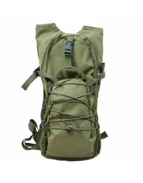 Zaino Zainetto Tattico Militare Verde in Cordura per Softair